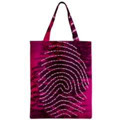 Above & Beyond Sticky Fingers Zipper Classic Tote Bag