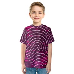 Above & Beyond Sticky Fingers Kids  Sport Mesh Tee