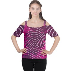 Above & Beyond Sticky Fingers Women s Cutout Shoulder Tee