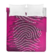 Above & Beyond Sticky Fingers Duvet Cover Double Side (Full/ Double Size)