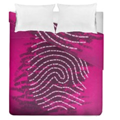 Above & Beyond Sticky Fingers Duvet Cover Double Side (Queen Size)