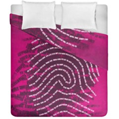 Above & Beyond Sticky Fingers Duvet Cover Double Side (California King Size)