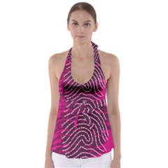 Above & Beyond Sticky Fingers Babydoll Tankini Top