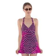 Above & Beyond Sticky Fingers Halter Swimsuit Dress