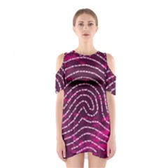 Above & Beyond Sticky Fingers Shoulder Cutout One Piece
