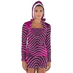 Above & Beyond Sticky Fingers Women s Long Sleeve Hooded T Shirt