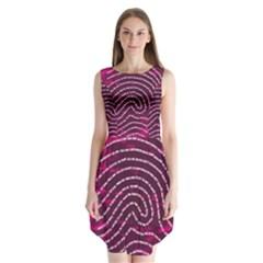 Above & Beyond Sticky Fingers Sleeveless Chiffon Dress