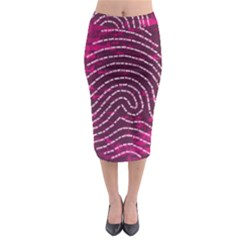 Above & Beyond Sticky Fingers Midi Pencil Skirt