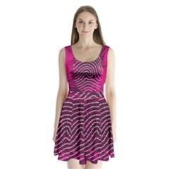 Above & Beyond Sticky Fingers Split Back Mini Dress