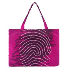 Above & Beyond Sticky Fingers Medium Zipper Tote Bag