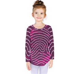 Above & Beyond Sticky Fingers Kids  Long Sleeve Tee