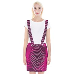 Above & Beyond Sticky Fingers Braces Suspender Skirt