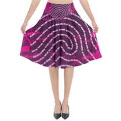 Above & Beyond Sticky Fingers Flared Midi Skirt