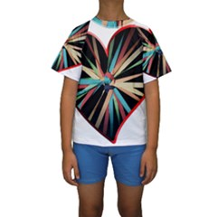 Above & Beyond Kids  Short Sleeve Swimwear