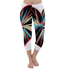 Above & Beyond Capri Winter Leggings