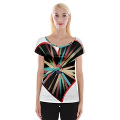 Above & Beyond Women s Cap Sleeve Top