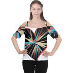 Above & Beyond Women s Cutout Shoulder Tee