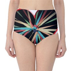 Above & Beyond High-Waist Bikini Bottoms