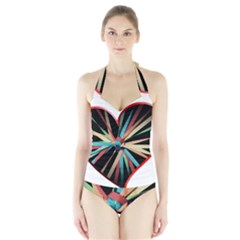 Above & Beyond Halter Swimsuit