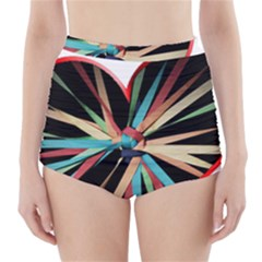 Above & Beyond High-Waisted Bikini Bottoms