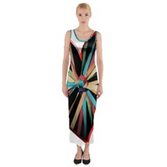 Above & Beyond Fitted Maxi Dress