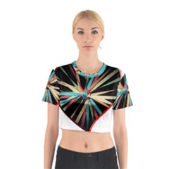 Above & Beyond Cotton Crop Top