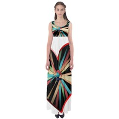 Above & Beyond Empire Waist Maxi Dress