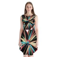 Above & Beyond Sleeveless Chiffon Dress