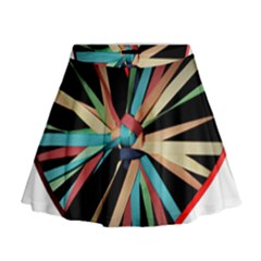 Above & Beyond Mini Flare Skirt