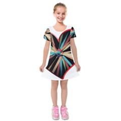 Above & Beyond Kids  Short Sleeve Velvet Dress