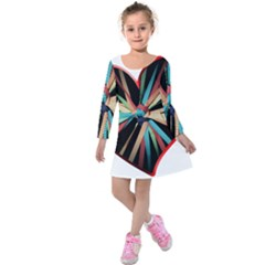 Above & Beyond Kids  Long Sleeve Velvet Dress