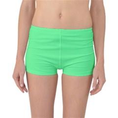 Neon Color - Light Brilliant Malachite Green Reversible Bikini Bottoms