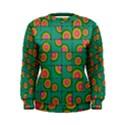 Tiled Circular Gradients Women s Sweatshirt View1