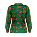 Tiled Circular Gradients Women s Sweatshirt View2