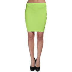 Neon Color - Light Brilliant Spring Bud Bodycon Skirt