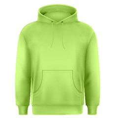Neon Color   Light Brilliant Spring Bud Men s Pullover Hoodie