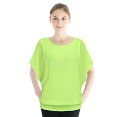 Neon Color - Light Brilliant Spring Bud Blouse