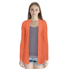 Neon Color - Light Brilliant Vermilion Cardigans