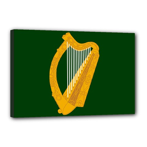 Flag of Leinster Canvas 18  x 12
