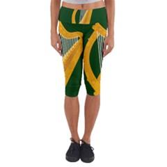 Flag of Leinster Capri Yoga Leggings