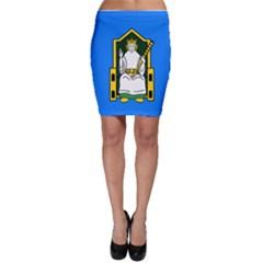 Flag of Mide Bodycon Skirt