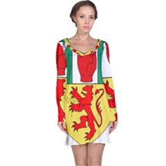County Antrim Coat of Arms Long Sleeve Nightdress