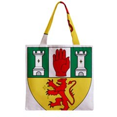 County Antrim Coat Of Arms Zipper Grocery Tote Bag