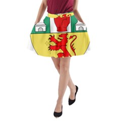 County Antrim Coat of Arms A-Line Pocket Skirt