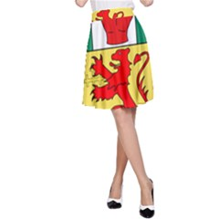 County Antrim Coat of Arms A-Line Skirt