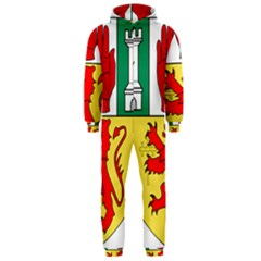 County Antrim Coat of Arms Hooded Jumpsuit (Men)