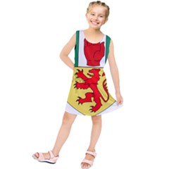County Antrim Coat of Arms Kids  Tunic Dress