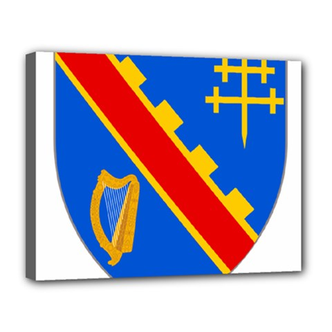 County Armagh Coat of Arms Canvas 14  x 11