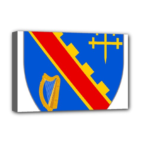 County Armagh Coat of Arms Deluxe Canvas 18  x 12