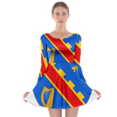 County Armagh Coat of Arms Long Sleeve Skater Dress